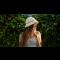 Trendy crochet bucket hat! The perfect DIY summer project