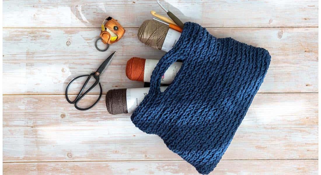 Crochet bag for beginners!