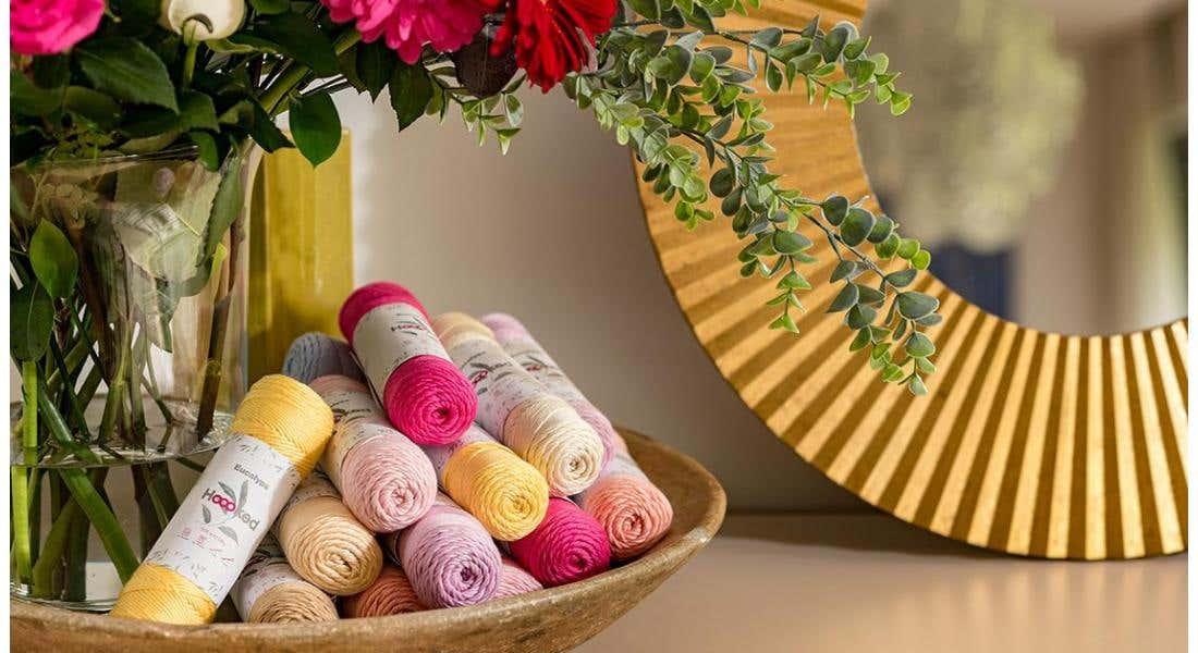 Sustainable plant based yarns