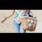 ¡Proyecto para el verano! ¡Decora tu bolso de playa con corazones de ganchillo!