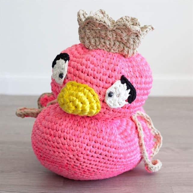 DIY Crochet Pattern Royal Duck Didi