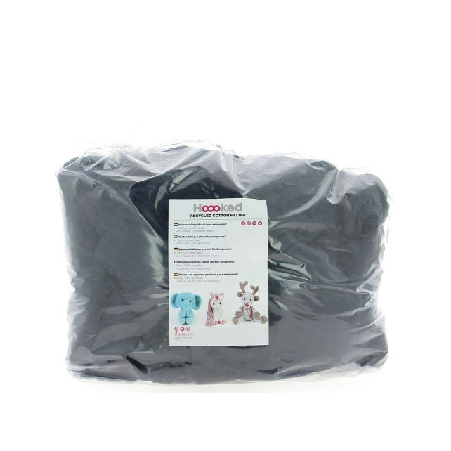 100% Recycled Fluffy Cotton Filling - Storm - 1KG