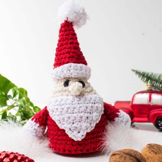 DIY Haakpakket Santa Claus Kerstman