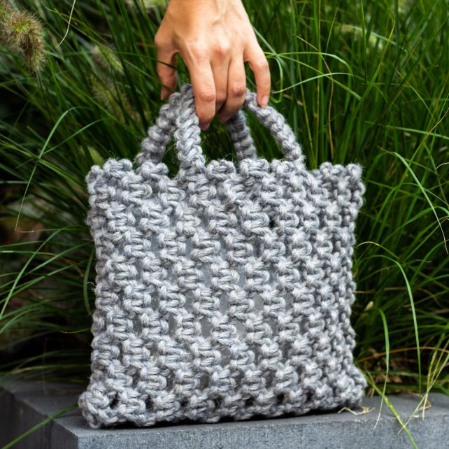 DIY Macramé Kit Bag Bauru