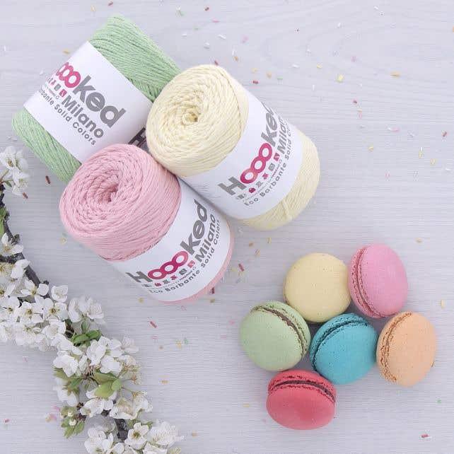 Yarn pack Eco Barbante Meringue Kisses