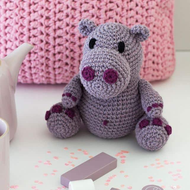 DIY Haakpatroon Hippo Hugo