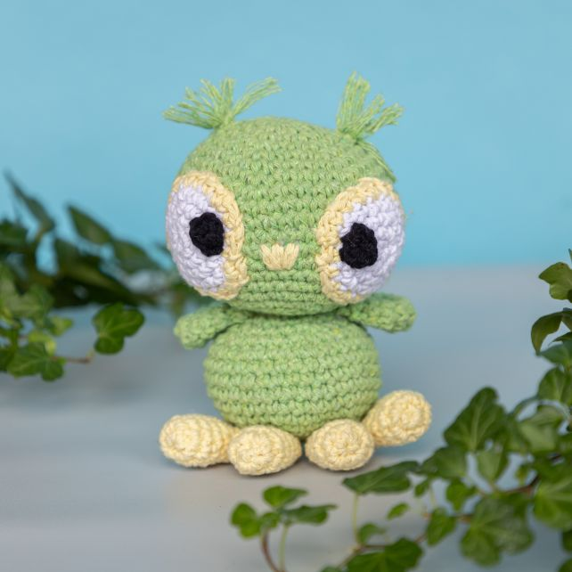 DIY Crochet pattern Amigurumi Owl Tommy