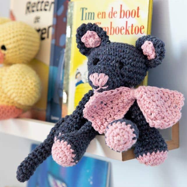 DIY Crochet Pattern Kitten Kyra Eco Barbante