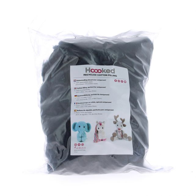 100% Recycled Fluffy Cotton Filling - Storm