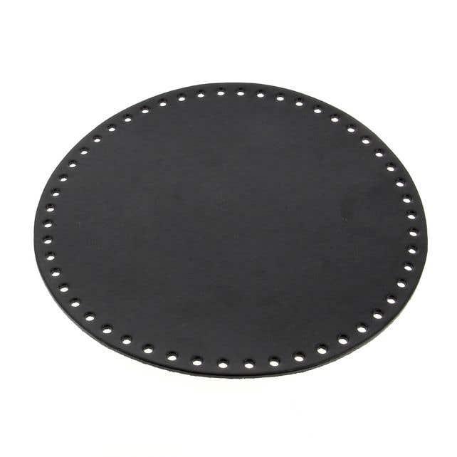 Runde Taschenboden Schwarz