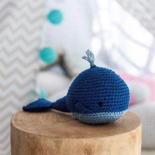 DIY Crochet Pattern Whale Pepper Eco Barbante