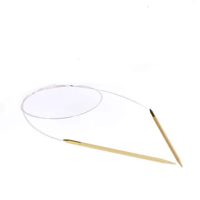 Bamboe Rondbreinaalden 4mm - 80 cm