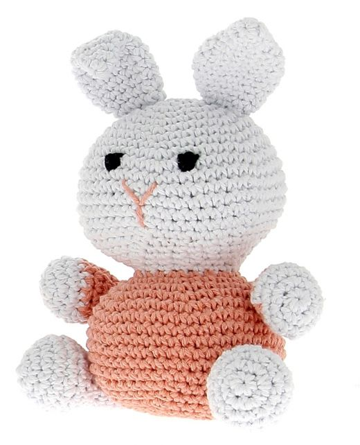 DIY Crochet Kit Bunny Eco Barbante Apricot