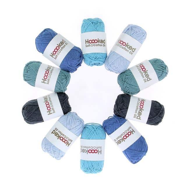Soft Cotton DK Yarn Pack Seattle Sea