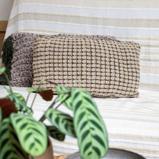 DIY Crochet Pattern Cushion Tinella