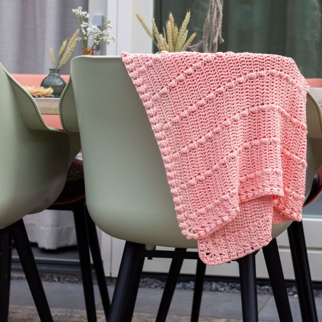 DIY Crochet pattern babyblanket Bari