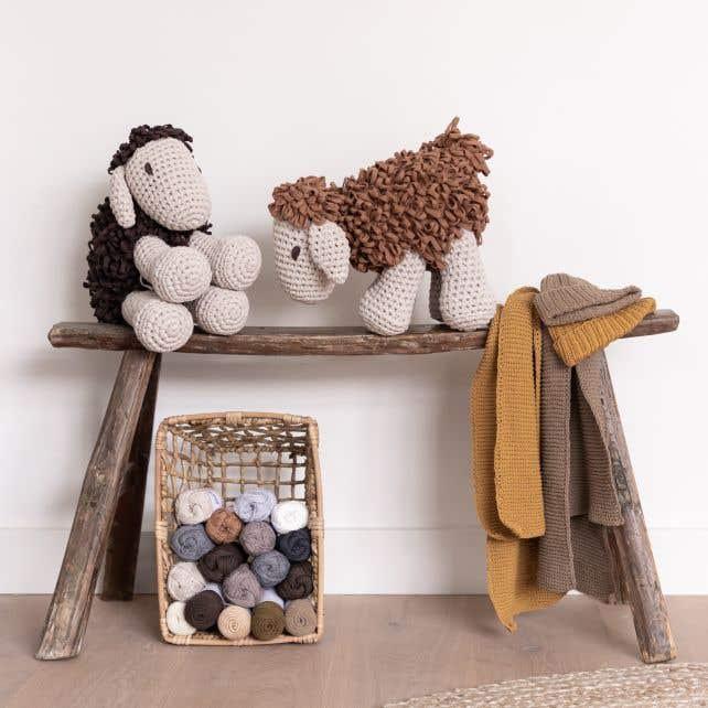 DIY Crochet Pattern Sheep Robby