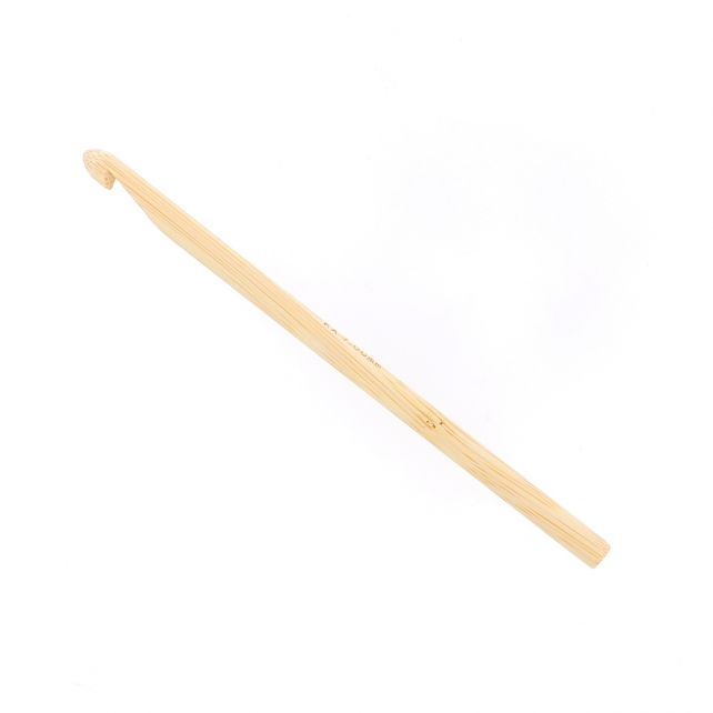 Shirotake bamboe haaknaald 7 mm - 15cm