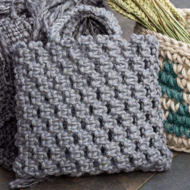 DIY Macramé patroon Tas Bauru