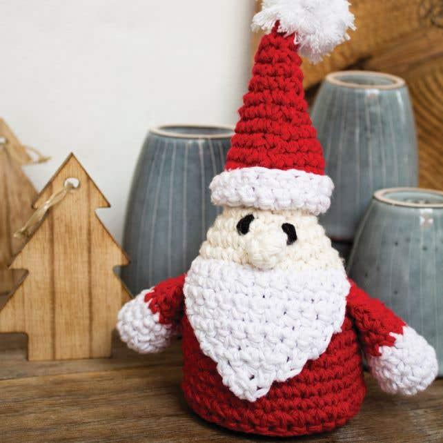 DIY Crochet Pattern Santa Claus