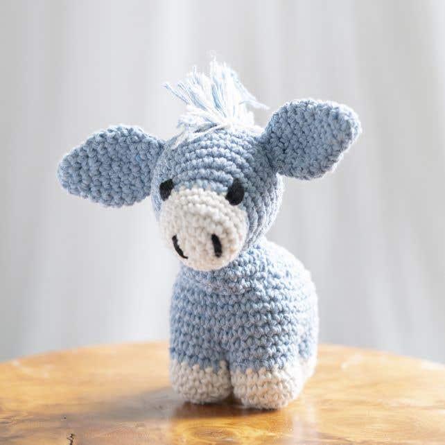 DIY Crochet kit Donkey Joe Eco Barbante Provence