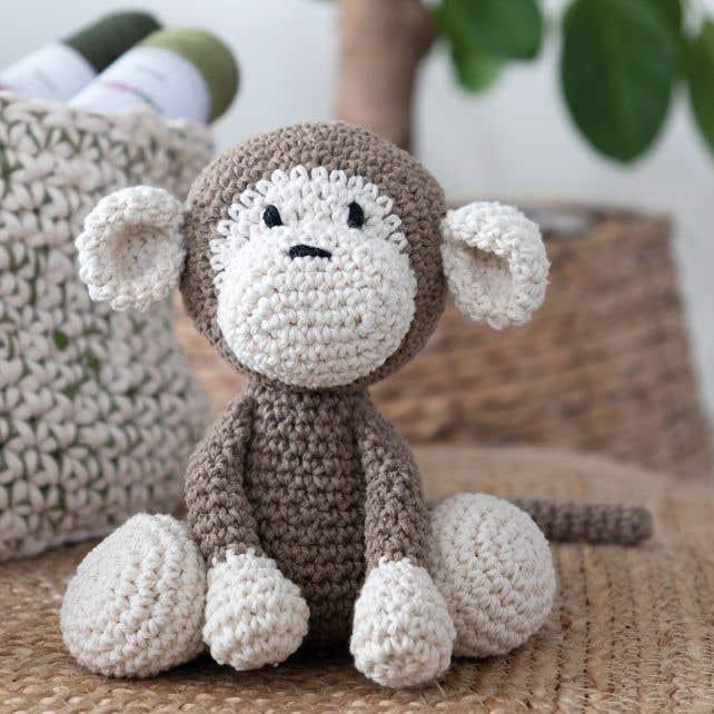 DIY Crochet Pattern Monkey Mace