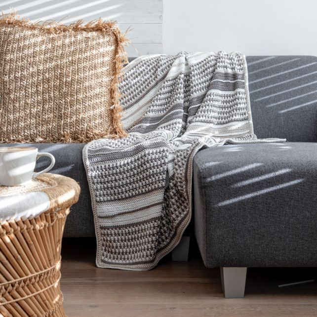DIY Crochet Pattern Blanket Stocksund