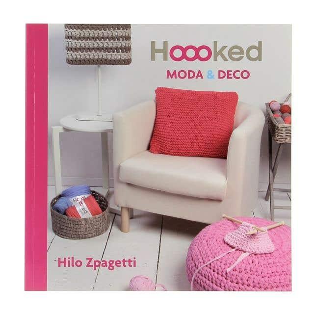Hoooked Spaans Haakboek Moda & Deco (ES)