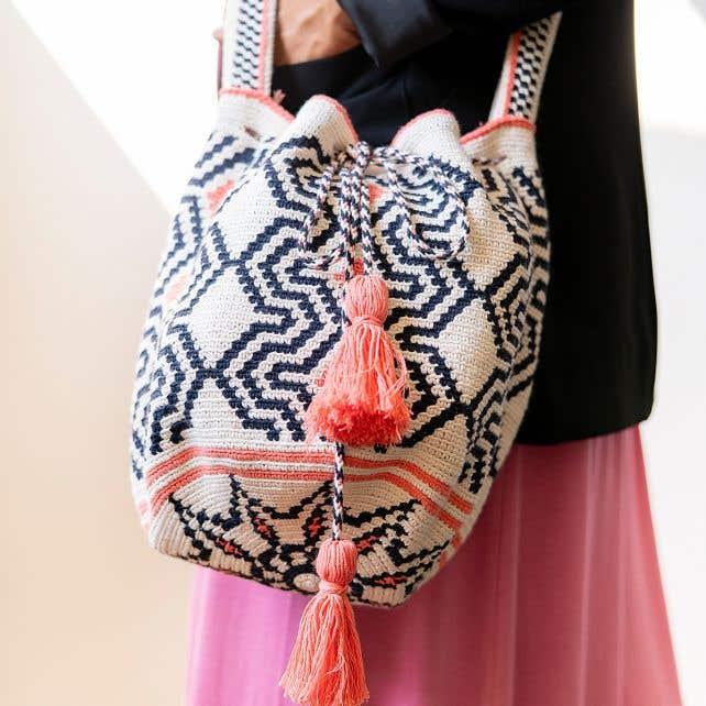 DIY Crochet pattern Mochila Bag Pisa