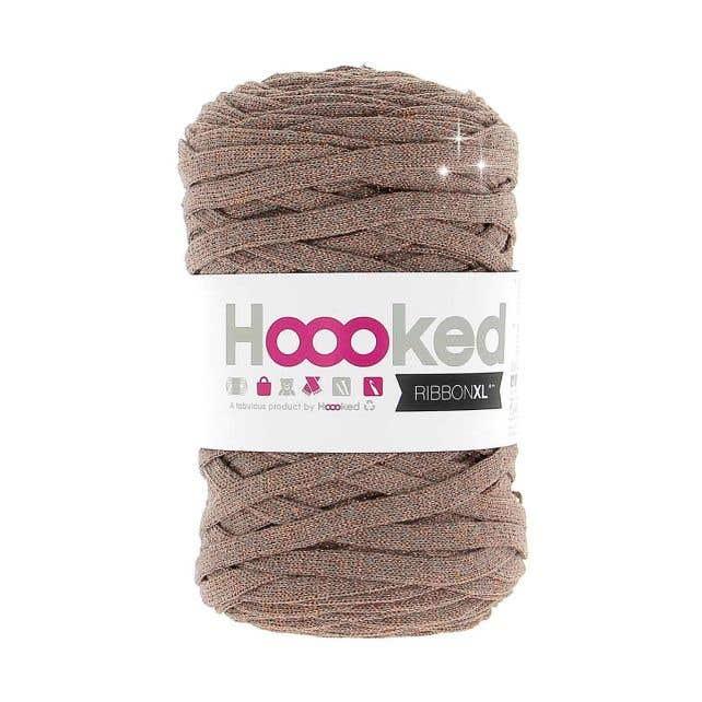 RibbonXL Lurex Copper Wood