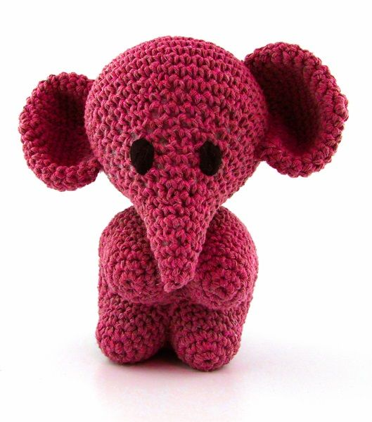 DIY Häkelset Elefant Eco Barbante Punch