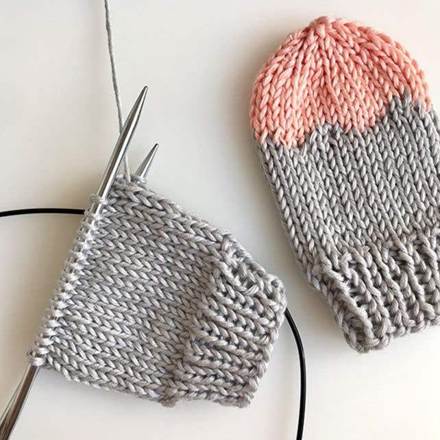 DIY breipatroon babywantjes Acri