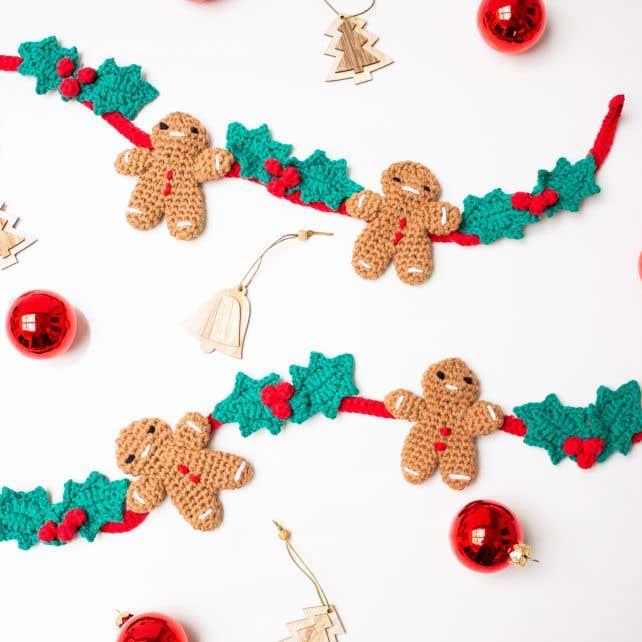 DIY Haakpakket Kerstslinger