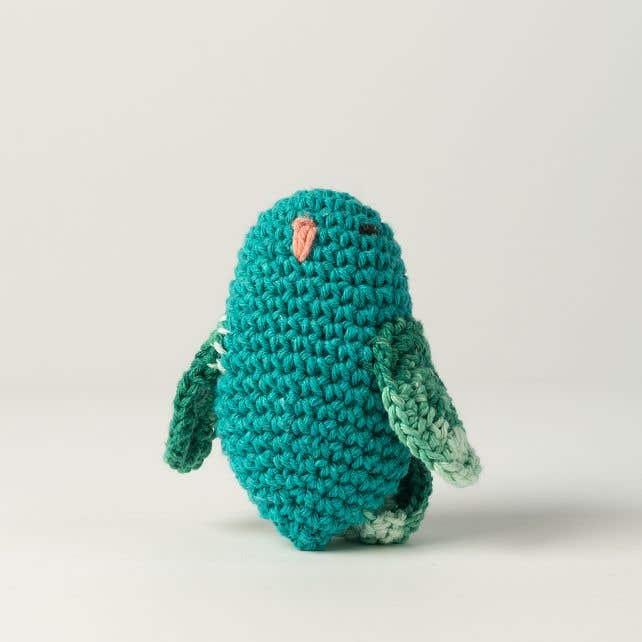 DIY Crochet Kit Love Bird Rico Lagoon