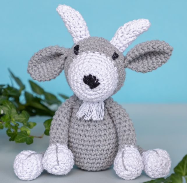 DIY Crochet Kit Goat Giorgio