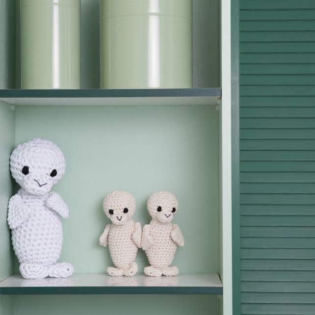 DIY Crochet pattern RibbonXL Seal Paco