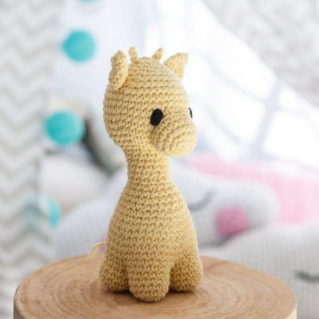 DIY Haakpakket Giraffe Eco Barbante Popcorn