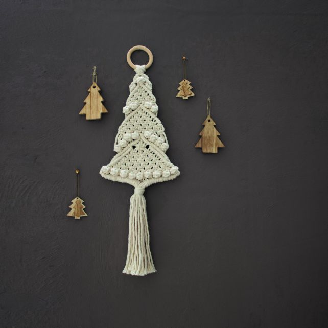 DIY Macramé Pakket Kerstboom