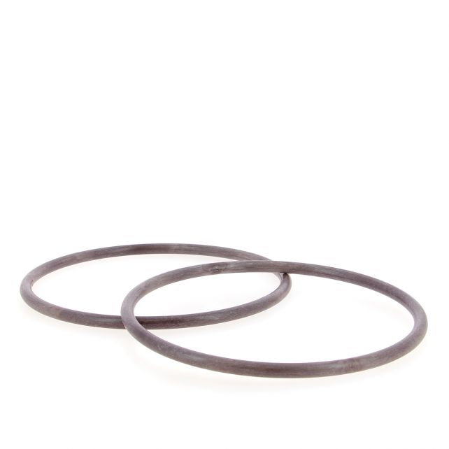 XL Smooth Round purse handle Recycled PET – Taupe