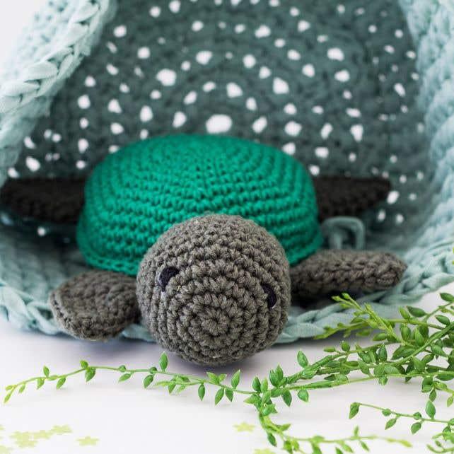 DIY Haakpatroon Turtle Jake