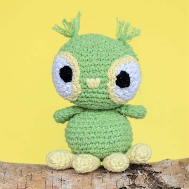 DIY Crochet Kit Owl Tommy