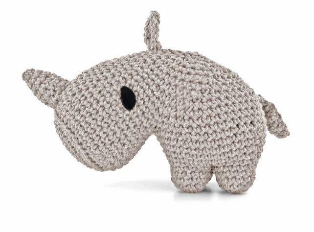 DIY Haakpakket Rhino Dex Eco Barbante Biscuit