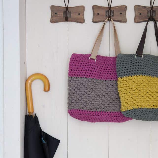 DIY Haakpatroon Valencia Bag RibbonXL