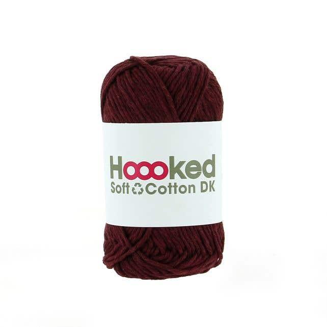 Soft Cotton DK Bordeaux Red