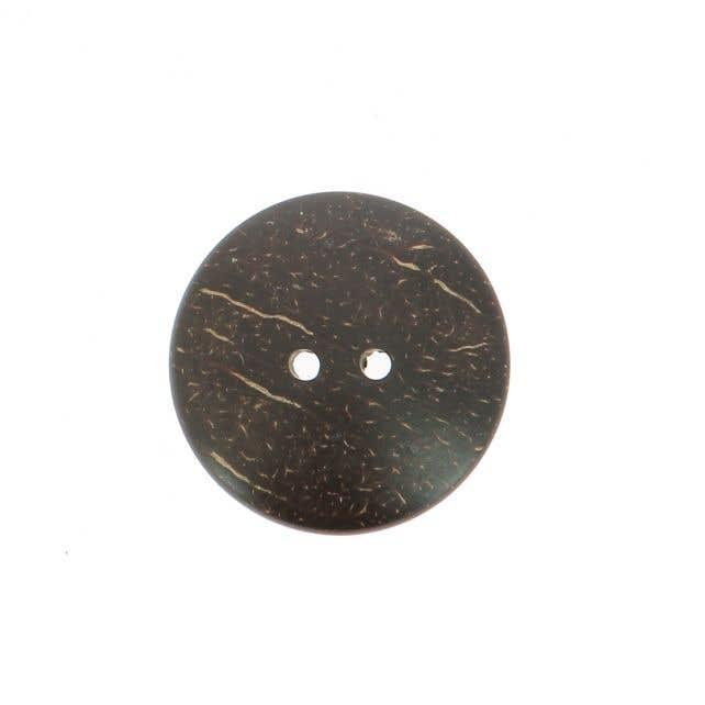 Coconut Button Round (3cm)