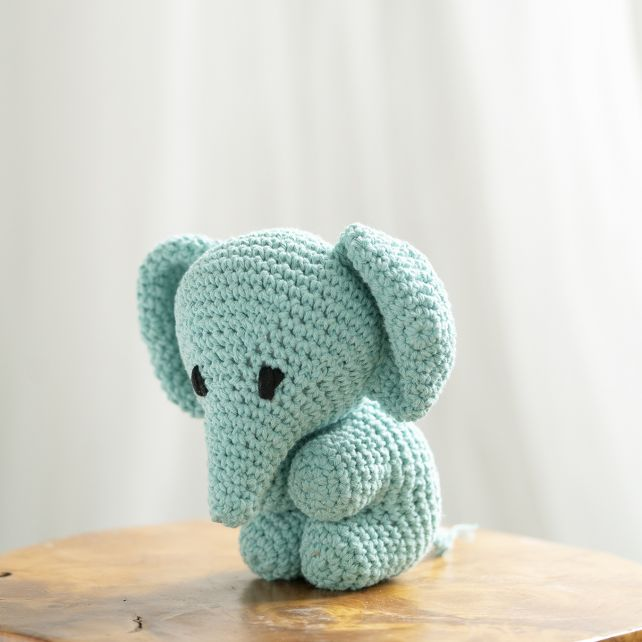 DIY Häkelset Elefant Eco Barbante Spring