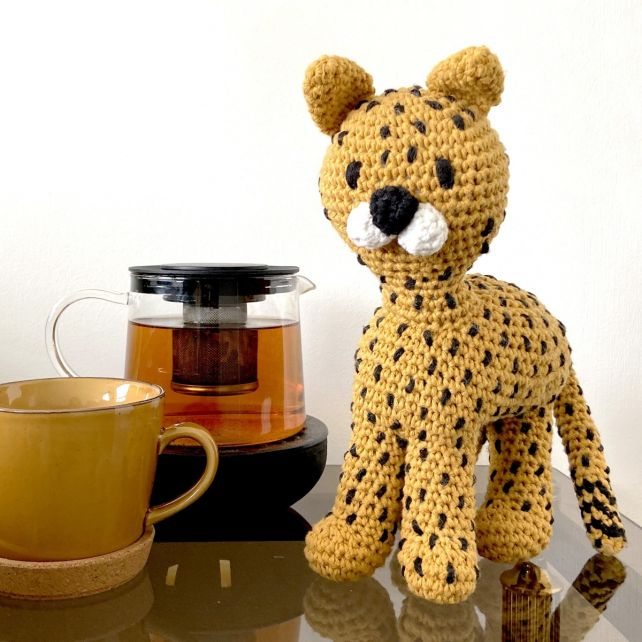 DIY Crochet Kit Chikee Cheetah