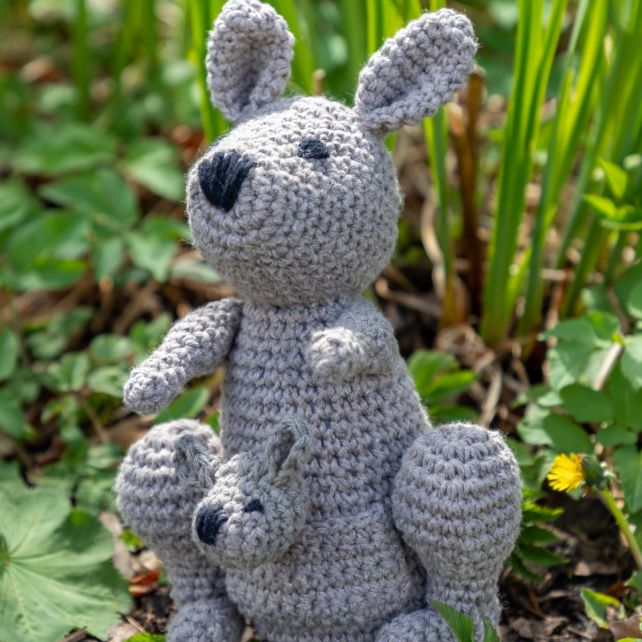 DIY Crochet Kit Kayleigh Kangaroo