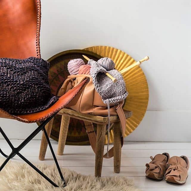 XL Bamboo Knitting Needles 12 mm