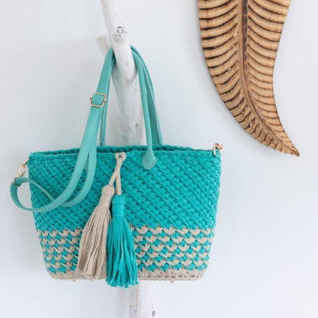 DIY crochet pattern Bellona Bag
